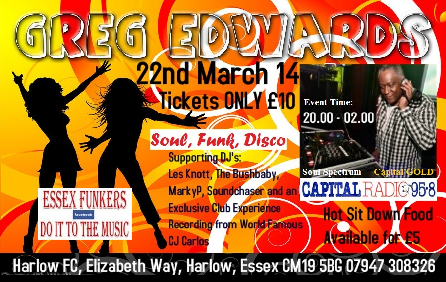 Greg Edwards Essex Funkers